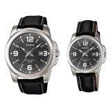 ซื้อ Casio Watch รุ่น Mtp 1314L 8Av สีดำ Women Men Casio ออนไลน์