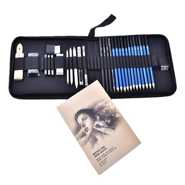 Mua 33Pcs Professional Sketching Drawing Pencils Kit Set Wood Pencil for Art Supplies School