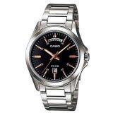 ส่วนลด Casio นาฬิกาข้อมือ รุ่น Mtp 1370D 1A2 Silver Black Casio สงขลา