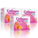 ขาย Vistra Collagen Set Orange Flavour Set 3 กล่อง กรุงเทพมหานคร ถูก