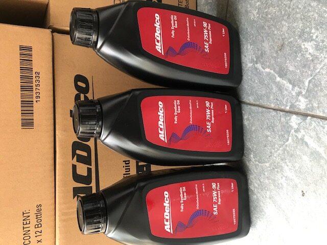 รีวิว ACDelco 75W-90 น้ำมันเฟืองท้ายสังเคราะห์แท้ 100% รถยนต์ Chevrolet Colorado ทุกรุ่น [ขนาด 3 ลิตร]