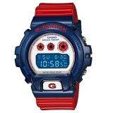 ส่วนลด Casio G Shock นาฬิกาข้อมือ รุ่น Dw 6900Ac 2A สีฟ้า แดง Casio G Shock