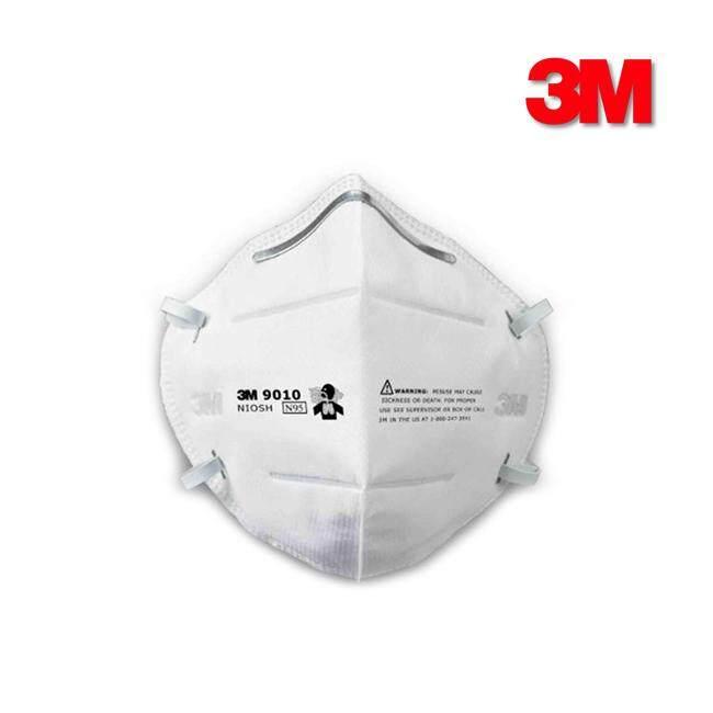 3m หน้ากากป้องกันฝุ่นละออง พับได้ รุ่น 9010 N95 (6ชิ้น) By B.home.