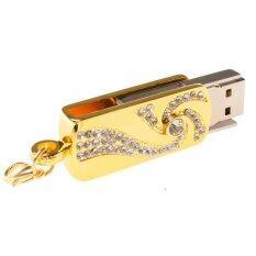 ราคา 16Gb Crystal Diamond Metal Rotation Usb 2 Flash Memory Drive Stick Pen Thumb U Disk Intl Unbranded Generic ใหม่