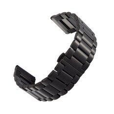 ราคา 16Mm Stainless Steel Watch Band Strap For Moto 360 2Nd Gen Women S 42Mm Come With Clasps Black Zomtop เป็นต้นฉบับ