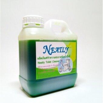Neatly - น้ำยาล้างห้องน้ำนีทลี่ สีเขียว ขนาด 1000 มล.