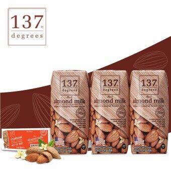 137 ดีกรี® นมอัลมอนด์ สูตรดั้งเดิม ขนาด 180 มล.