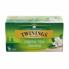 ซื้อ ทไวนิงส์ชาจัสมินกรีนที 1 8กรัมX25ซอง Twinings เป็นต้นฉบับ