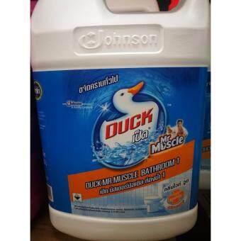 น้ำยาล้างห้องน้ำ 3500มล. สีขาว ไวท์ วูด เป็ดๆ สูตรขจัดทั่วไป