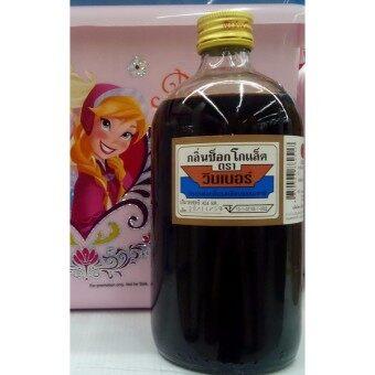 วินเนอร์ วัตถุแต่งกลิ่นรสสังเคราะห์ กลิ่นช็อคโกแลต แบบน้ำ 474 มล.คุณภาพดี สำหรับแต่งกลิ่นรส ขนม และอาหารหวานทุกชนิด