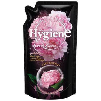 ไฮยีน น้ำยาปรับผ้านุ่ม เอ็กเพิร์ทแคร ไลฟ์เซ้นพีโอนีบูม สีดำ 580 มล.