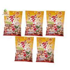 ไดนิจิ  ถั่วลิสงอบกรอบ สไตล์ญี่ปุ่น รสดั้งเดิม 60 กรัม 5 ถุง Dainichi  Mame Arare Original Flavor 60 grams 5 sachets