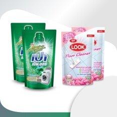 ราคา เปา เอ็ม วอช ลิควิด ชนิดถุงเติม ขนาด 800 มล 2 ถุง ผลิตภัณฑ์ทำความสะอาดพื้นลุค กลิ่นบลูโอเชี่ยน สีชมพู ชนิดถุงเติม 800 มล 2 ถุง ที่สุด