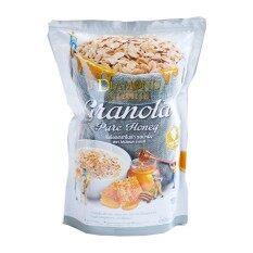 Diamond Grains Pure Honey Granola ซีเรียลกราโนล่า รสน้ำผึ้ง 220กรัม.