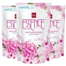 ราคา Essence น้ำยาซักผ้า เอสเซ้นซ์ กลิ่น Floral สีชมพู ชนิดเติม 400 มล แพ็ค 3 ถุง ออนไลน์