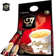 G7 3in1 instant coffee กาแฟจีเซเว่น 16กรัม x 100ซอง