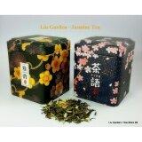 ขาย ชุดชาของขวัญ ชามะลิชนิดคัดพิเศษ Liu Garden แพคคู่ซากุระ 80 กรัม X 2 ถูก