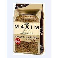 ซื้อ กาแฟ Maxim Aroma Select กาแฟสำเร็จรูป แม็กซิม สีทอง แบบรีฟิล 180 กรัม สินค้านำเข้าจากญี่ปุ่น กรุงเทพมหานคร