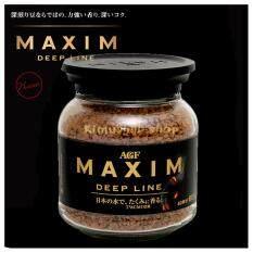 ราคา Maxim Deep Line กาแฟแม็กซิม ดีฟ ไลน์ 80G ราคาถูกที่สุด