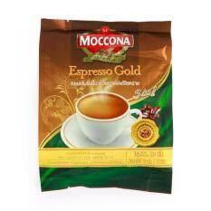 Moccona มอคโคน่าทรีโอเอสเปรสโซโกลด์ 19ก X16 ซอง 2 แพ็ค Moccona ถูก ใน ไทย