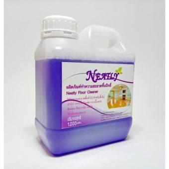 Neatly - น้ำยาถูพื้นนี่ทลี่ (สีม่วง) กลิ่นหอม ละมุน ขนาด 1,000 มล.  -