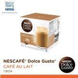 ขาย Nescafe Dolce Gusto Cafe Au Lait แคปซูลกาแฟ จำนวน 1 กล่อง กล่องละ 16 แคปซูล