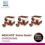 ราคา Nescafe Dolce Gusto แคปซูลกาแฟ Chococino จำนวน 1 แพ็ค 3 กล่องๆ ละ 16 แคปซูล ใหม่ล่าสุด