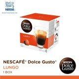 ขาย Nescafe Dolce Gusto Lungo แคปซูลกาแฟ จำนวน 1 กล่อง กล่องละ 16 แคปซูล Nescafe Dolce Gusto