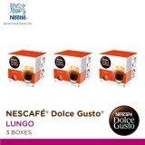 ราคา Nescafe Dolce Gusto แคปซูลกาแฟ Lungo จำนวน 1 แพ็ค 3 กล่องๆ ละ 16 แคปซูล Nescafe Dolce Gusto เป็นต้นฉบับ