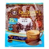 Oldtown White Coffee 3 In 1 Less Sugar กาแฟ Old Town สูตร Less Sugar น้ำตาลน้อย ลดน้ำตาล ขนาด 1 ห่อใหญ่ 15 ซองเล็ก สินค้ามาเลย์ เป็นต้นฉบับ