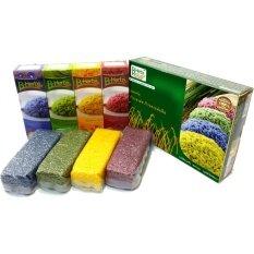 ราคา ขนาดทดลอง Pack 1 B Herbs ชุดของขวัญข้าวของพ่อข้าวของแผ่นดิน Ga0399 แพ็คละ 1 กิโลกรัม แพ็คสุญญากาศ ใหม่ ถูก