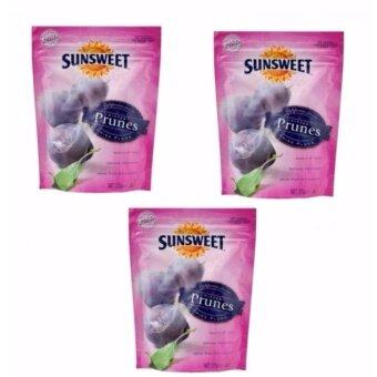 Sunsweet ซันสวีท ลูกพรุน ไม่มีเมล็ด ขนาด 200 กรัม (3 ซอง)
