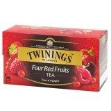 ขาย Twinings Four Red Fruits Tea ทไวนิงส์ โฟรเรดฟรุตส์ ชาอังกฤษ 2กรัม 25ซอง Twinings เป็นต้นฉบับ
