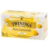 ขาย Twinings Pure Camomile Tea ทไวนิงส์ เพียวคาโมมายล์ ชาอังกฤษ 1กรัม 25ซอง ใหม่