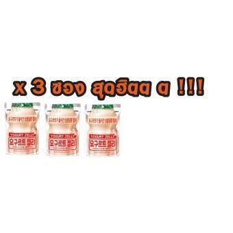 YOGURT JELLY เยลลี่ยาคูลท์ ขนมเกาหลีสุดฮิต รสโยเกิร์ตขนาด 50 กรัม (3 ซอง)