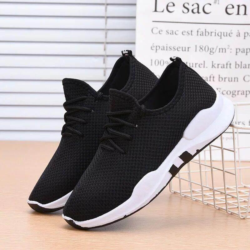 shoes ลงเท้าผ้าใบ (ไม่มีกล่อง)