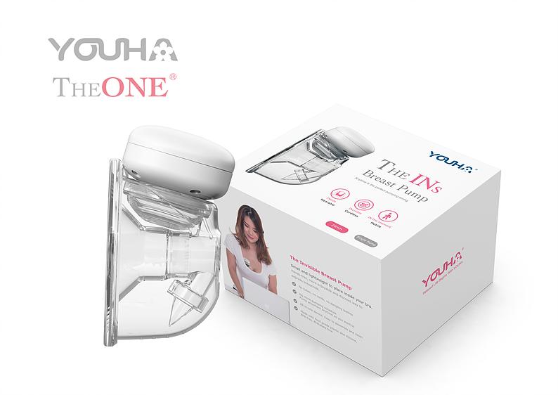 """โปรโมชั่น YOUHA PLUS (ยูฮา พลัส) เครื่องปั๊มนมไร้สาย (1 ข้าง) Freena Pro (YH8020) รุ่นใหม่ล่าสุด """"All in one device"""""""