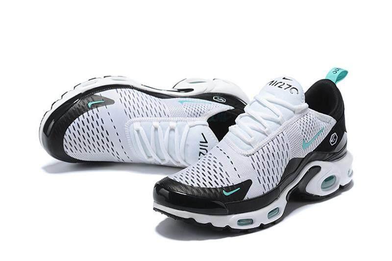 Nike Air Max Plus TN Men's Air Cushion Shoes Running Shoes Mesh Breathable White Jade 40 46