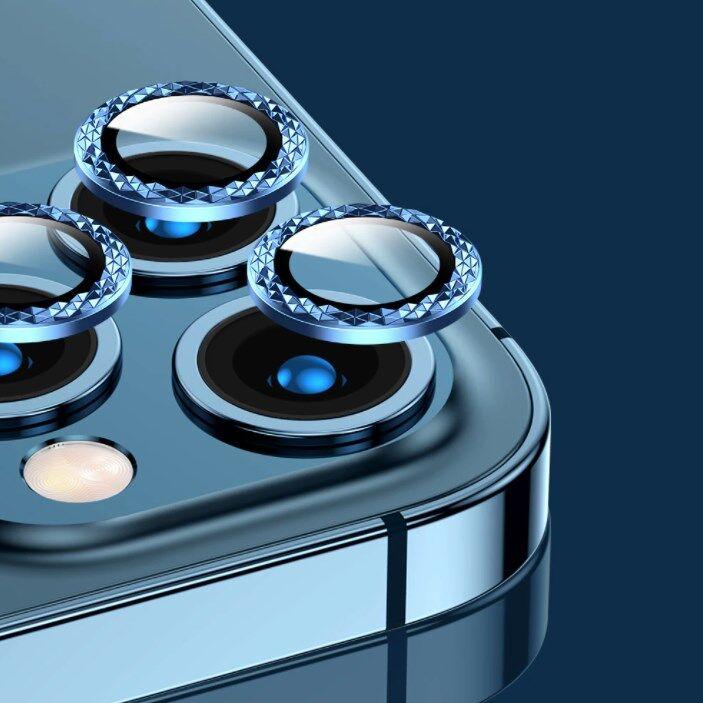ครอบเลนส์กล้องแบบเพชร ครอบเลนส์ไอโฟน เลนส์กล้อง ฟิล์มเลนส์กล้อง ฟิล์มกล้องไอโฟน11 Iphone 11 / 11pro / 11promax / 12 / 12pro / 12promax / 12mini.