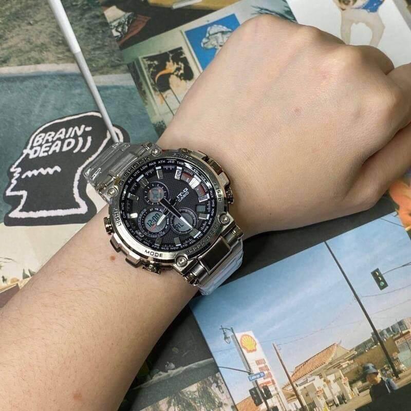 Casio G-Shock นาฬิกา G-Shock ไทเทเนียม ราคาพิเศษ Titanium Watch รุ่นใหม่ล่าสุด 2019 ถ่ายจากสินค้าจริง100% พร้อมกล่องแบรนด์ G-Shock มีชำระเงินปลายทาง.
