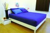ซื้อ Cotton Soft ชุดผ้าปูที่นอน รุ่น Blue Base Soft 6 ฟุต 5 ชิ้น ออนไลน์ ถูก