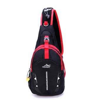 Sportschannel กระเป๋าไหล่กีฬากันน้ำแบบทแยงมุมแพคเกจ (นานาชาติ)