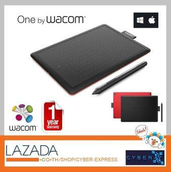 New Wacom - One by Wacom Small Size - CTL-472 วาคอม เม้าส์ปากกา -  รับประกันศูนย์ไทย 1 ปี
