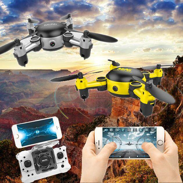 Miniยานพาหนะไร้คนขับแบบพับได้ Mini Foldable Uav Unmanned Aerial Vehicle By Winewine0001.