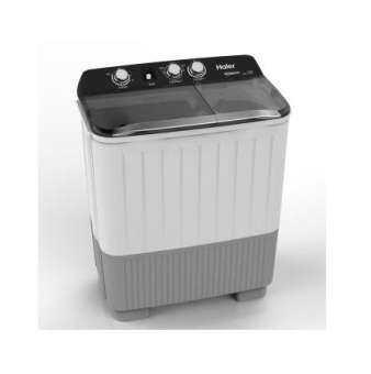 Haier เครื่องซักผ้า 2 ถัง รุ่น HWM-T85OXS (ซัก 8.5กก./ปั่น 5.6 กก.)