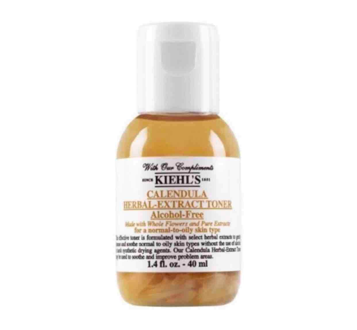 พร้อมส่ง Kiehl's Calendula Herbal Extract Alcohol Free Toner 40มล