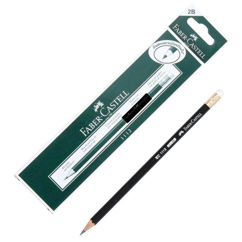 ดินสอ 2b (กล่อง12แท่ง) Faber-Castell 1112.