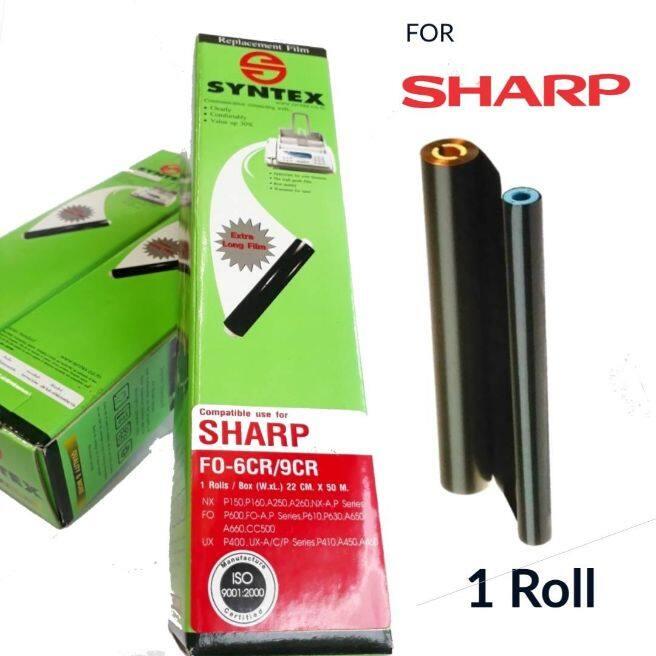 Film Fax Sharp Fo-6cr/9cr 1ม้วน/กล่อง.