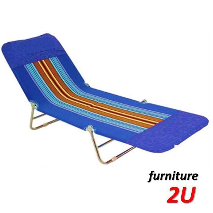 เตียง เตียงพับ เตียงนอน 3 พับ ผ้าขนปุย เคลื่อนย้ายสะดวก ตรงไหนก็นอนได้ By Furniture2u.