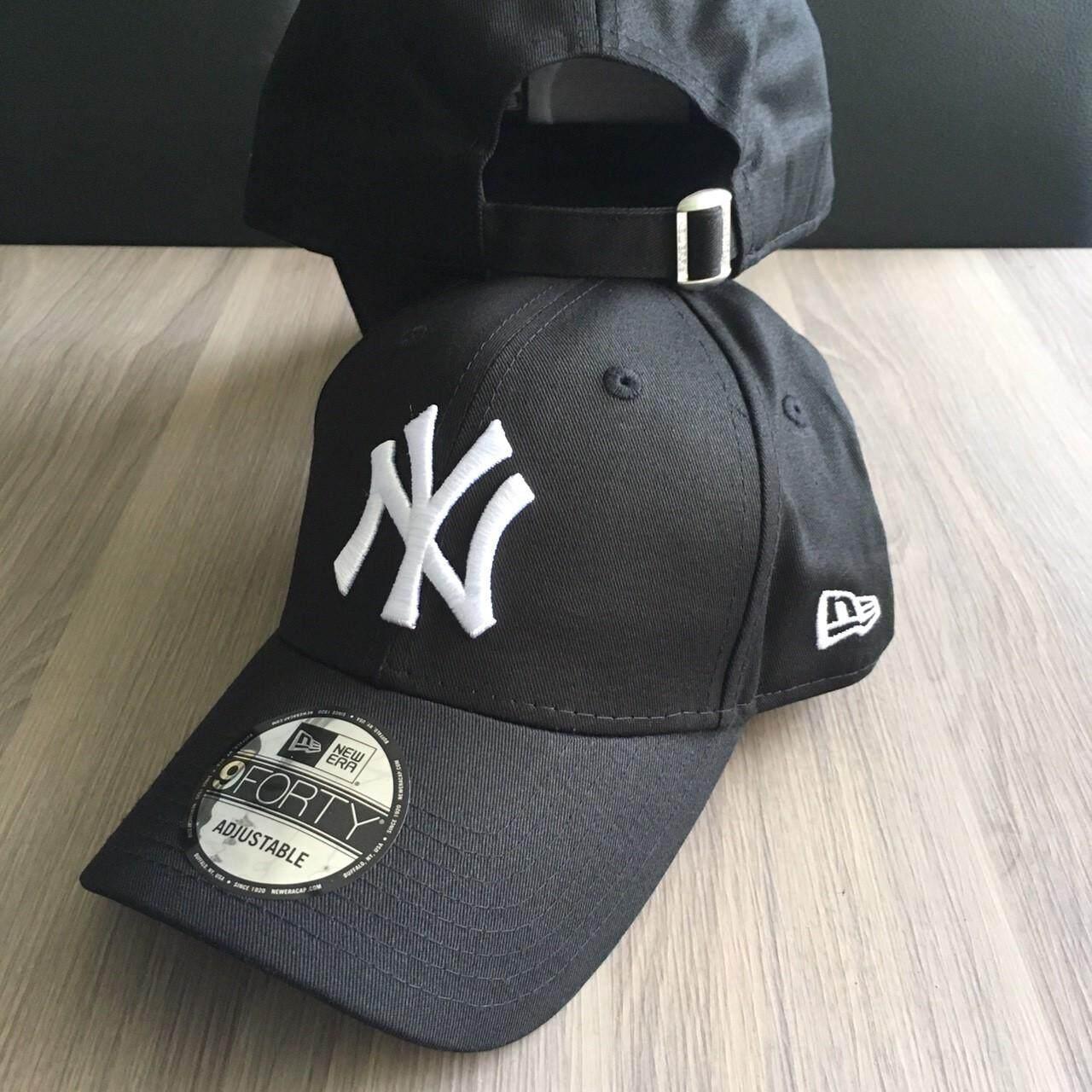 หมวก New Era Ny ของแท้ 100% สีดำ.